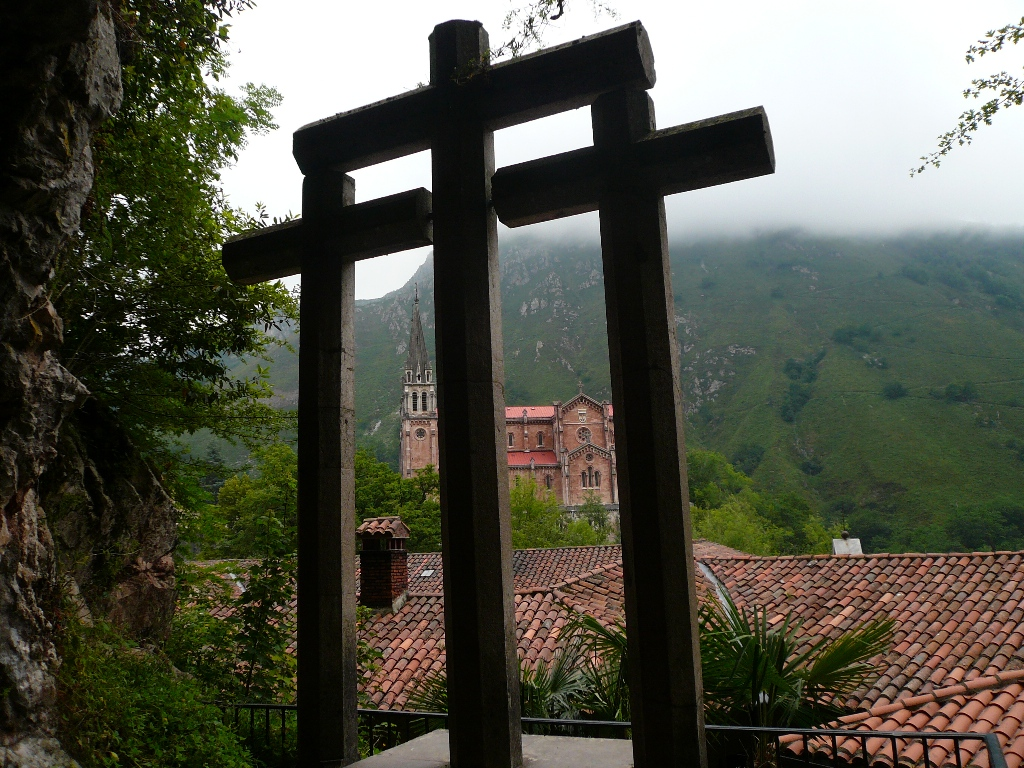 Tres cruces Covadonga
